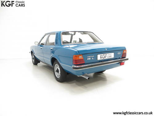 1979 A Ford Cortina Mk4 1600L, 40,249 Miles in Amazing Condition SOLD (picture 4 of 6)