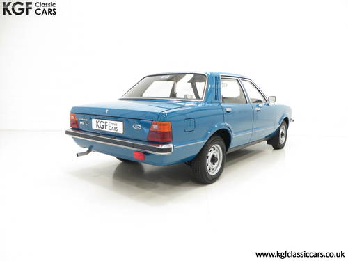 1979 A Ford Cortina Mk4 1600L, 40,249 Miles in Amazing Condition SOLD (picture 5 of 6)