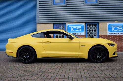 2016 Ford Mustang 5.0i V8 GT Fastback 6-Speed Manual SOLD (picture 3 of 6)