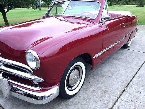 1949 Ford Deluxe Convertible For Sale (picture 1 of 6)