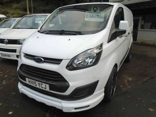 2015 Ford Transit Custom 2.2TDCi ( 100PS ) 290 L1H1 For Sale (picture 1 of 6)
