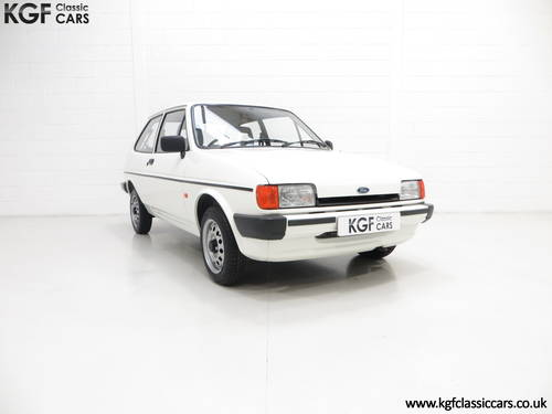 1989 An Unrestored Ford Fiesta 1.1 Popular Plus with 18,727 Miles SOLD (picture 1 of 6)