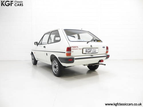 1989 An Unrestored Ford Fiesta 1.1 Popular Plus with 18,727 Miles SOLD (picture 4 of 6)