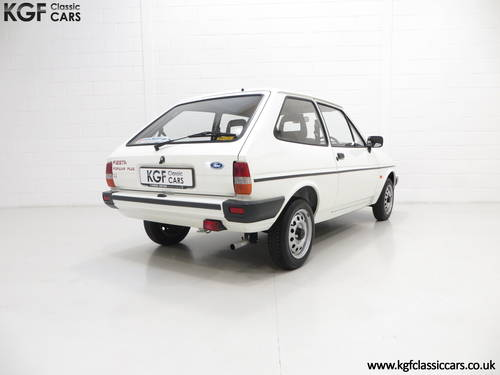 1989 An Unrestored Ford Fiesta 1.1 Popular Plus with 18,727 Miles SOLD (picture 5 of 6)