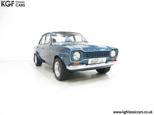 1972 An Immaculate Ford Escort GT Mk1 Superspeed V6 Recreation SOLD (picture 1 of 6)