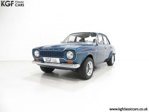 1972 An Immaculate Ford Escort GT Mk1 Superspeed V6 Recreation SOLD (picture 2 of 6)