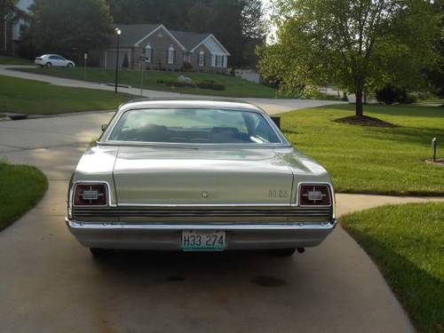 1969 Ford Galaxie 500 2DR For Sale (picture 4 of 6)