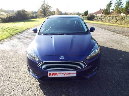 2017 Ford Focus 1.5 Zetec TDCI for sale For Sale (picture 1 of 6)
