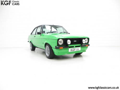 1978 An Iconic, Very Rare Mk2 Ford Escort RS Mexico SOLD (picture 1 of 6)
