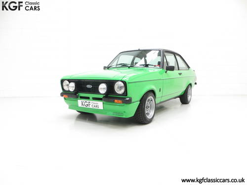 1978 An Iconic, Very Rare Mk2 Ford Escort RS Mexico SOLD (picture 2 of 6)