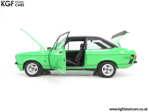 1978 An Iconic, Very Rare Mk2 Ford Escort RS Mexico SOLD (picture 3 of 6)