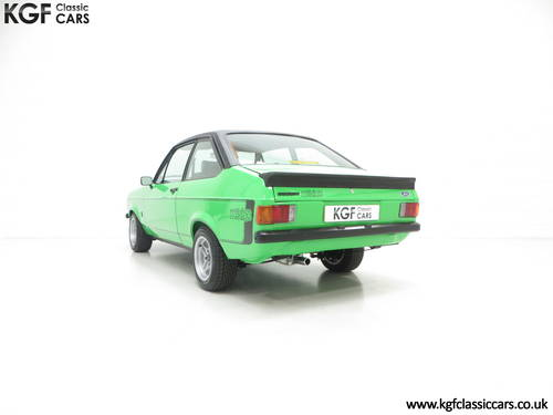 1978 An Iconic, Very Rare Mk2 Ford Escort RS Mexico SOLD (picture 4 of 6)