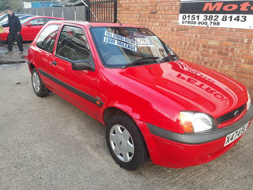 2000 FORD FIESTA  3 DOOR   50,000 MILES  SERVICE HISTORY SOLD (picture 1 of 4)