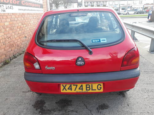 2000 FORD FIESTA  3 DOOR   50,000 MILES  SERVICE HISTORY SOLD (picture 3 of 4)