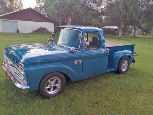 1966 Ford F100 Pickup For Sale (picture 1 of 6)