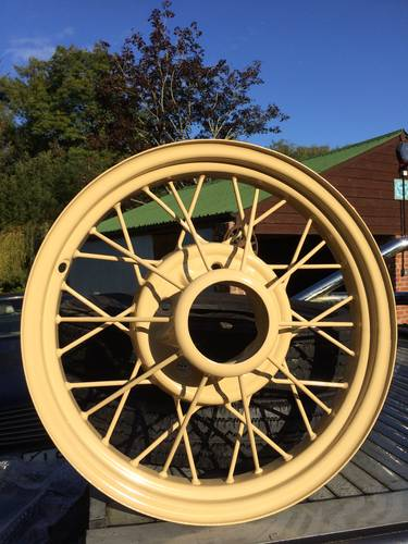 1936 Classic Ford Y and C Type Wheel Restoration - Tudor Wheels  (picture 2 of 2)