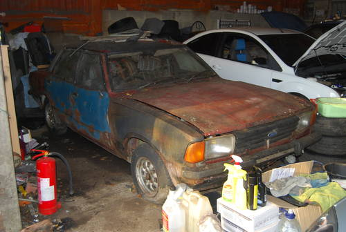 1977 Ford Cortina MK4 2.0s barn find rotten as a pear SOLD (picture 2 of 4)