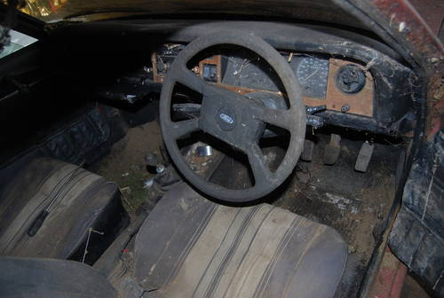 1977 Ford Cortina MK4 2.0s barn find rotten as a pear SOLD (picture 3 of 4)