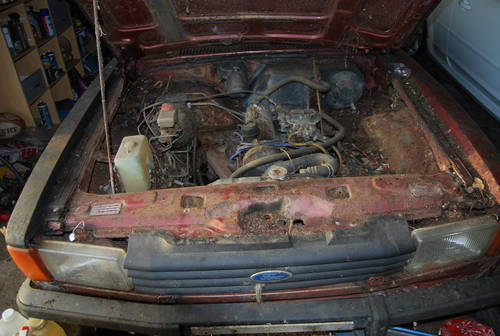 1977 Ford Cortina MK4 2.0s barn find rotten as a pear SOLD (picture 4 of 4)