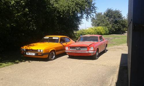 1979 Ford Capri 3.0s homologation orange SOLD (picture 5 of 6)