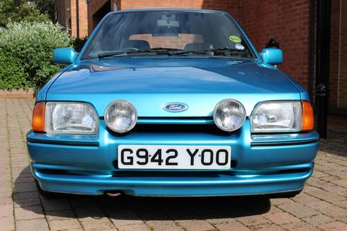 1989 Ford Escort XR3i Cabriolet SOLD (picture 2 of 6)