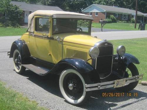 1931 Ford Model A Sport Coupe For Sale (picture 2 of 6)