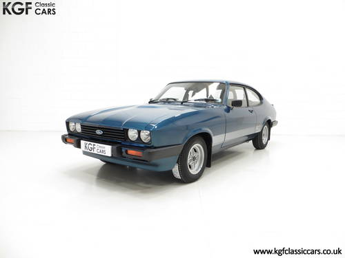 1980 An Incredible Ford Capri 3.0S with 28,980 Miles SOLD (picture 2 of 6)
