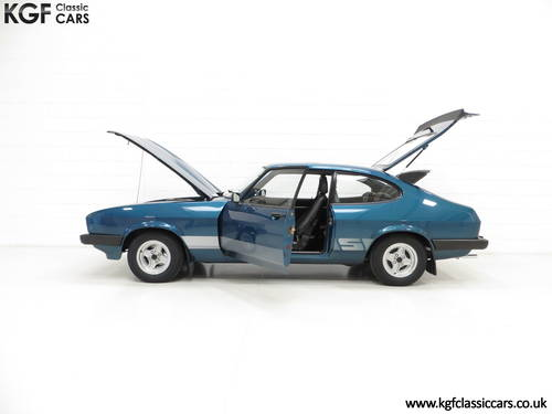 1980 An Incredible Ford Capri 3.0S with 28,980 Miles SOLD (picture 3 of 6)