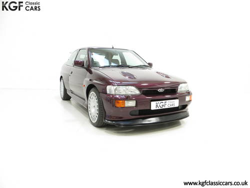 1994 A Fully Detailed Ford Escort RS Cosworth Monte Carlo SOLD (picture 1 of 6)