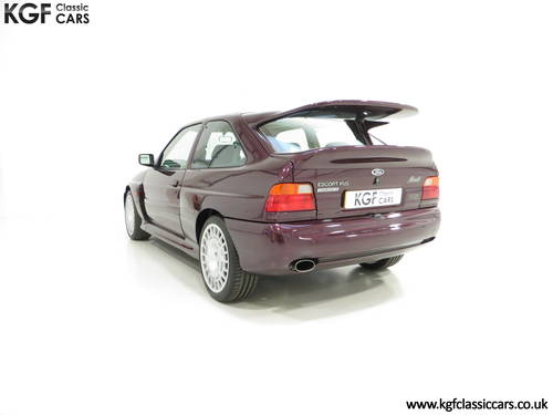 1994 A Fully Detailed Ford Escort RS Cosworth Monte Carlo SOLD (picture 4 of 6)