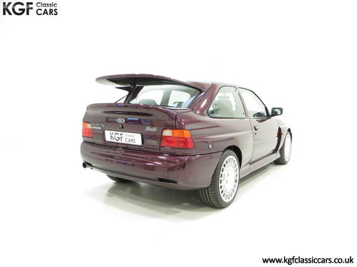 1994 A Fully Detailed Ford Escort RS Cosworth Monte Carlo SOLD (picture 5 of 6)