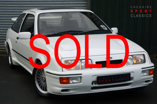 1986 Ford Sierra RS Cosworth, Concourse Preppared, Outstanding. SOLD (picture 1 of 6)