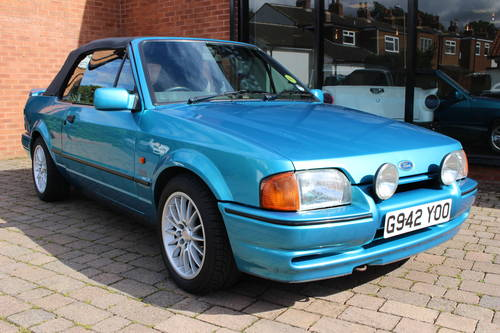 1989 Ford Escort XR3i Cabriolet SOLD (picture 1 of 6)