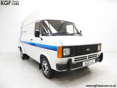 1982 Quite Possibly The Best Mk2 Ford Transit Van 190 SOLD (picture 1 of 6)
