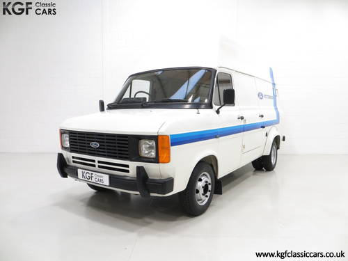 1982 Quite Possibly The Best Mk2 Ford Transit Van 190 SOLD (picture 2 of 6)