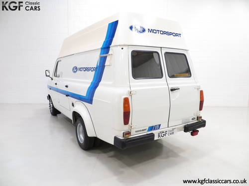 1982 Quite Possibly The Best Mk2 Ford Transit Van 190 SOLD (picture 4 of 6)