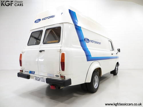 1982 Quite Possibly The Best Mk2 Ford Transit Van 190 SOLD (picture 5 of 6)