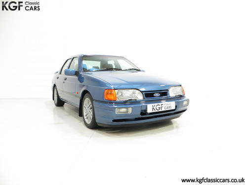 1988 A Rare Crystal Blue Ford Sierra RS Cosworth SOLD (picture 1 of 6)
