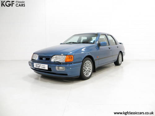 1988 A Rare Crystal Blue Ford Sierra RS Cosworth SOLD (picture 2 of 6)