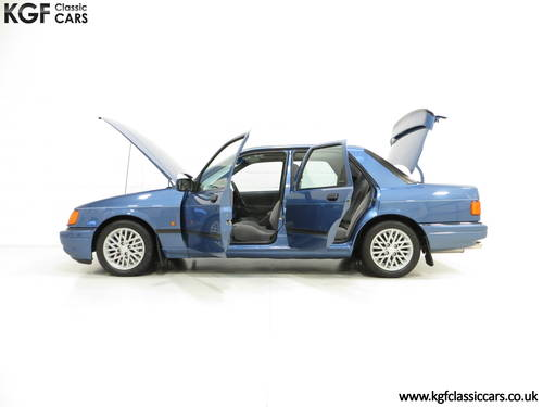 1988 A Rare Crystal Blue Ford Sierra RS Cosworth SOLD (picture 3 of 6)