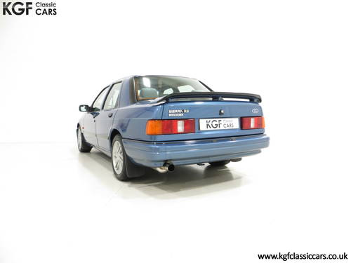 1988 A Rare Crystal Blue Ford Sierra RS Cosworth SOLD (picture 4 of 6)