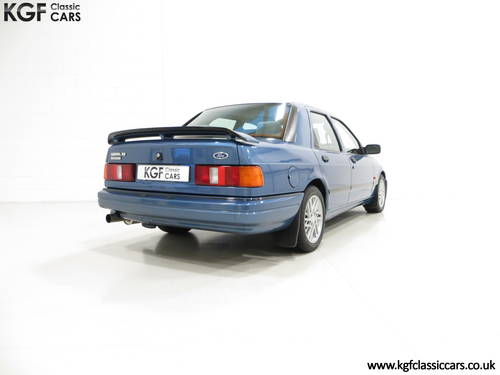 1988 A Rare Crystal Blue Ford Sierra RS Cosworth SOLD (picture 5 of 6)