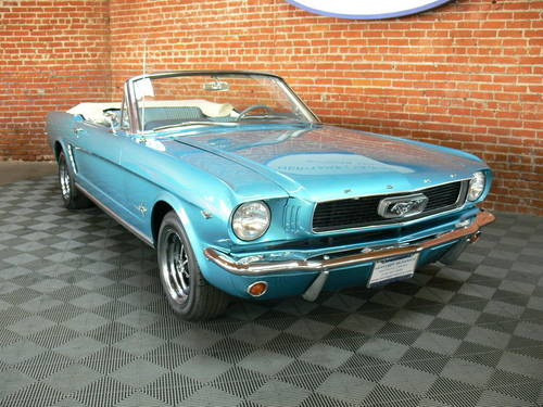 1964 1/2 Ford Mustang Convertible D Code SOLD (picture 1 of 6)