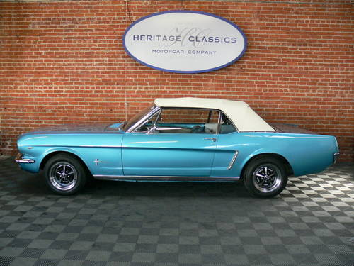 1964 1/2 Ford Mustang Convertible D Code SOLD (picture 3 of 6)