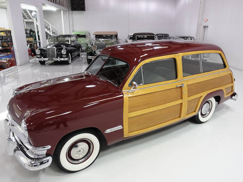 1950 Ford Custom Deluxe Woody Wagon For Sale (picture 2 of 6)
