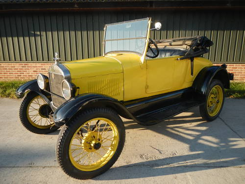 1927 Ford Model T roadster For Sale (picture 1 of 6)