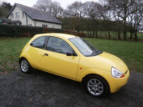 2000 FORD KA MILLENIUM YELLOW 6,995 MILES CONCOURS SHOW CAR! SOLD (picture 1 of 6)