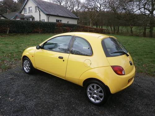 2000 FORD KA MILLENIUM YELLOW 6,995 MILES CONCOURS SHOW CAR! SOLD (picture 2 of 6)