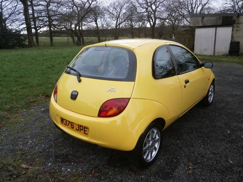 2000 FORD KA MILLENIUM YELLOW 6,995 MILES CONCOURS SHOW CAR! SOLD (picture 3 of 6)