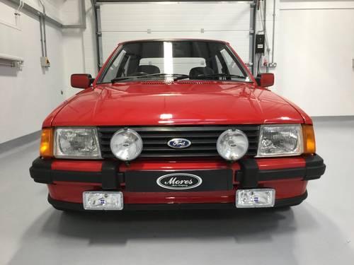 1985 Superb Original Ford Escort XR3i MK3 SOLD (picture 1 of 6)